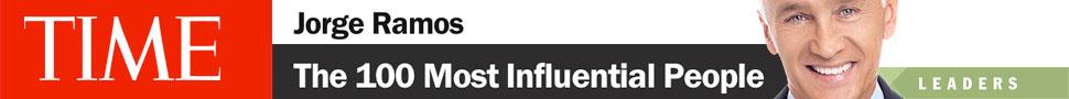 Jorge Ramos entre los 100 más influyentes del mundo