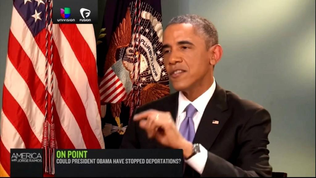 Barack Obama about immigration - Joergeramos.com
