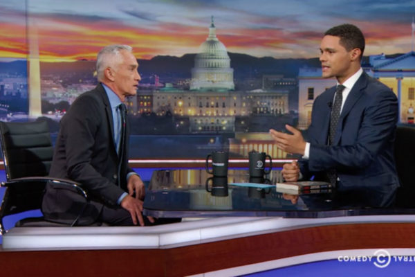 "JORGE RAMOS - ON FEELING LIKE A ""STRANGER"" IN HIS OWN COUNTRY - EXTENDED INTERVIEW"