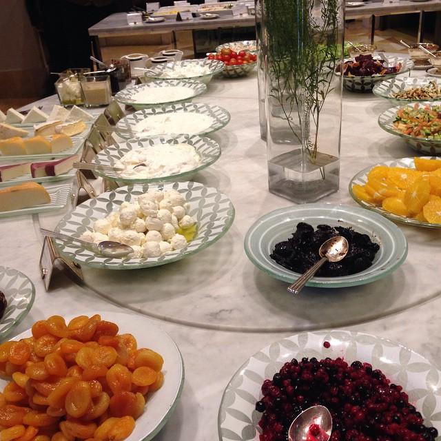 Breakfast in Jerusalem