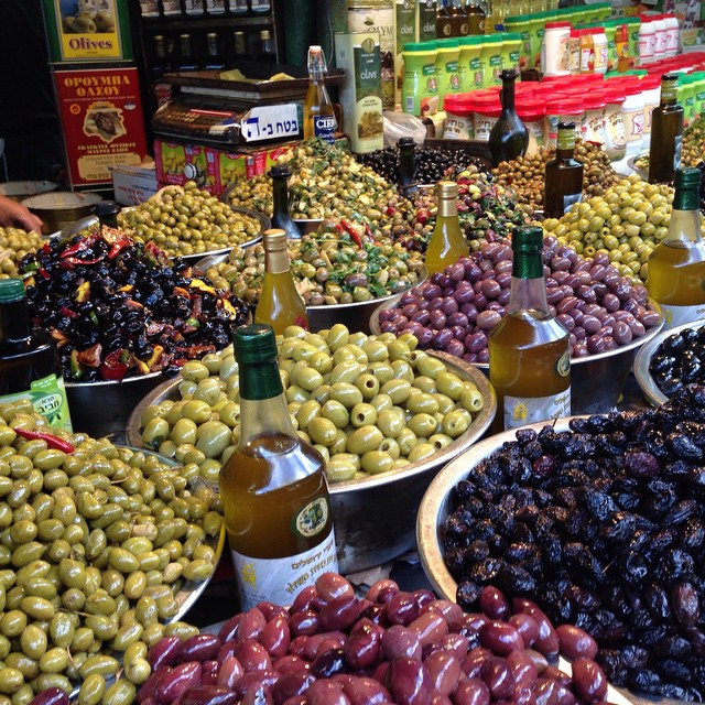 Aceitunas/ Olives/ Tel Aviv