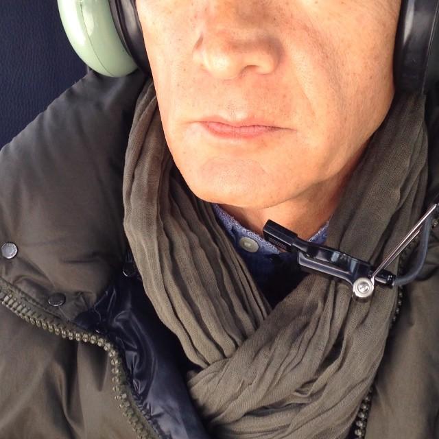 Flying over snowy Jerusalem. The report soon on Fusion/ Volando sobre Jerusalem nevado. El reportaje pronto en Univision