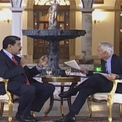 Jorge Ramos Entrevista al Dictador Nicolas Maduro